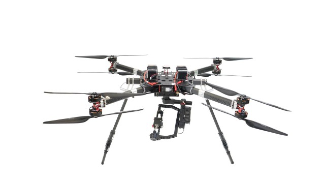 Lift drone Alpha red epic cinema